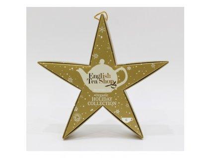 English Tea Shop Zlatá hvězda 6 pyramidek