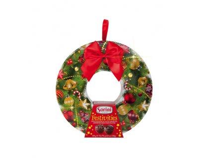 Sorini Festivities Věnec s čokoládovými pralinkami 188g