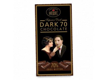 Heidel čokoláda hořká 70% 100g