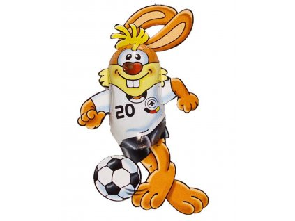 Velikonoční figurka Zajíček fotbalista 10g