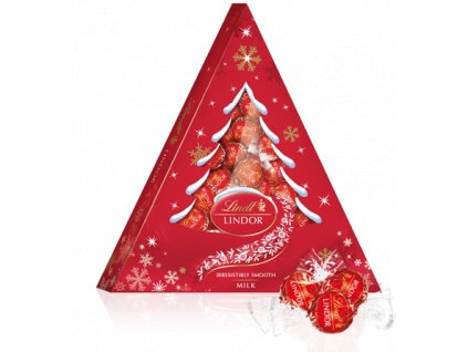 Lindor Xmass Tree Milk 125g