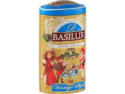 Basilur Vintage Winter Holidays Černý čaj s příchutí 100g