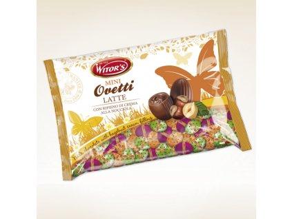 Witors Malá čokoládová vajíčka nugátová mix (7g) 1kg