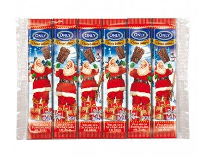Čokoládové lízátko Santa 6x15g