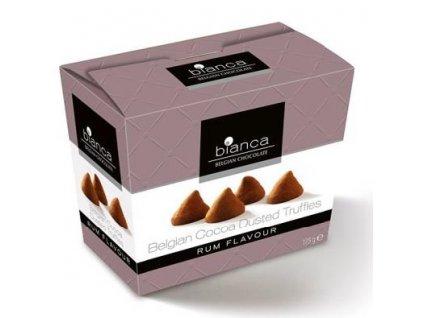 Bianca Belgické čokoládové lanýže Rum 175g