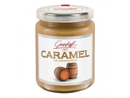 Grashoff Karamelový krém s 73% jamajským rumem 250g