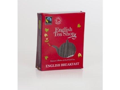 English Tea Shop Certifikovaný bio a fairtrade čaj English breakfast 1 sáček pyramidového čaje