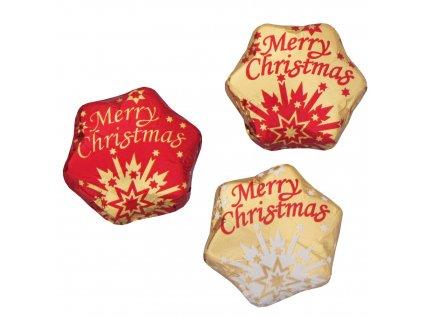 Vánoční hvězda Merry Christmas 6,25g
