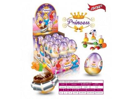 Čokoládové vajíčko Princess s překvapením 25g