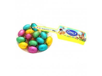 Only vajíčka barevná malá síťka 100g