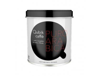 Qubik caffe mletá káva 100% Arabica 125g