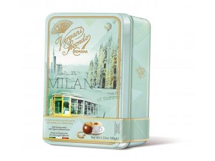 Vergani Latta Milano Čokoládové pralinky s náplní cappuccino 100g