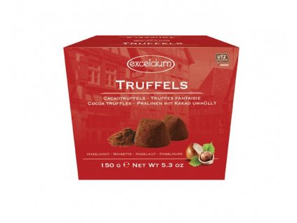 Excelcium Truffels Nuts Belgické truffle oříškové 150g