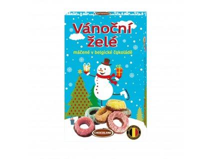 Chocoland Vánoční želé máčené v Belgické čokoládě 235g