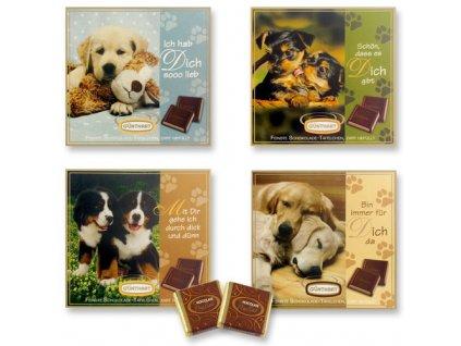 Čokoládový dárek Pes 63g