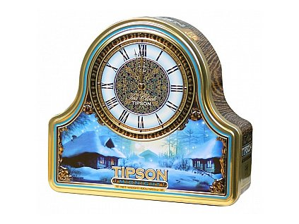 TIPSON Tea Clock Midnight plech 100g