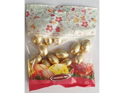 Chocoland Vajíčka double zlatý obal 100g