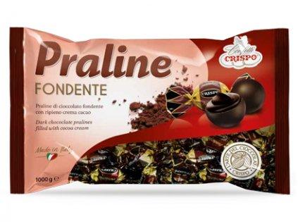 Crispo Hořká čokoládová pralinka plněná kakaovým krémem 1kg