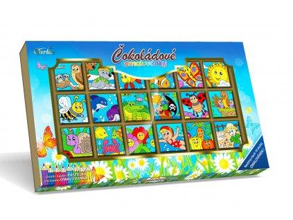 Čokoládové omalovánky 90g