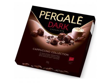 Pergale Dark Chocolate Cappuccino collection 130g