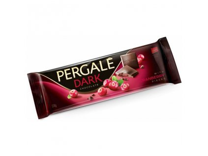Pergalé Hořká čokoláda brusinky 220g