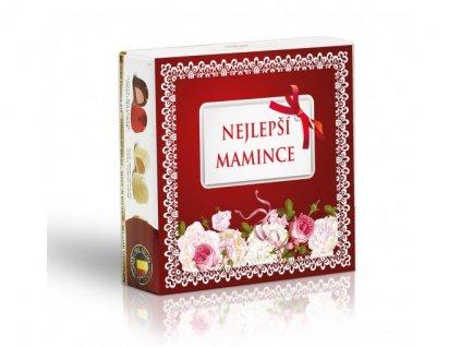 Mamince - Čokoládové belgické pralinky 50g
