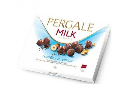Pergale Classic Collection Výběr pralinek z mléčné čokolády 373g