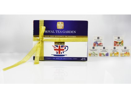 Royal Tea Garden Dárková sada čajů 48g