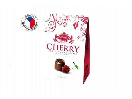 Carla Pralinky Cherry Višně v čokoládě 120g