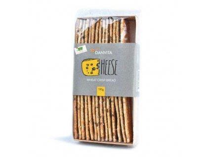 Danvita Cheese Křehký chléb se sýrem 130g