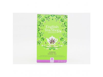 English Tea Shop20 Zelený čaj s jasmínem a bezinkou mandala design