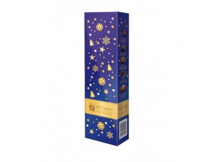 Emoti Le Caprice Pralinky hořká čokoláda 63g vánoční motiv