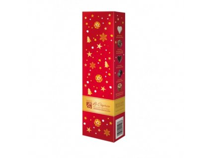Emoti Le Caprice Směs vybraných belgických pralinek 65g vánoční obal