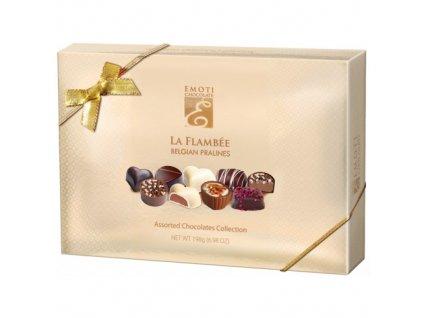 Emoti La Flambee Výběr čokoládových pralinek 198g