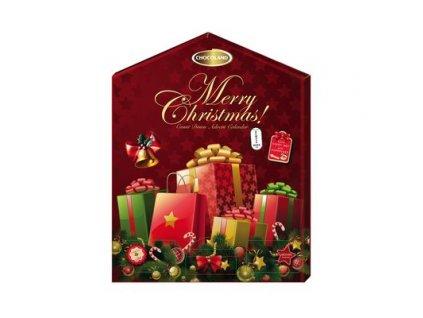 Chocoland Exklusivní Adventní kalendář Merry Christmas 155g