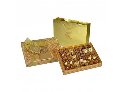 Bolci Pralinky Gold satén 500g