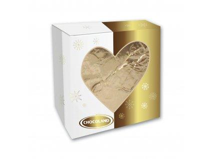 Chocoland Zlaté srdce v krabičce 40g