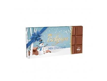 Belgian Mléčná čokoláda vánoční motiv 400g