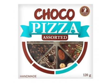Choco Pizza Assorted 120g