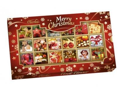 Carla Merry Christmas Vánoční neapolitánky 90g