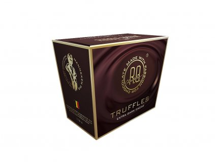 Rudolf Braun Belgické čokoládové lanýže extra hořké 175g