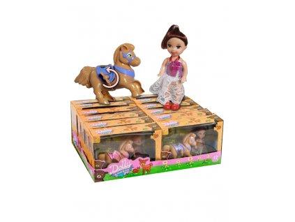 DOLLY&HORSE panenka na houpacím koníku 4g 12ks
