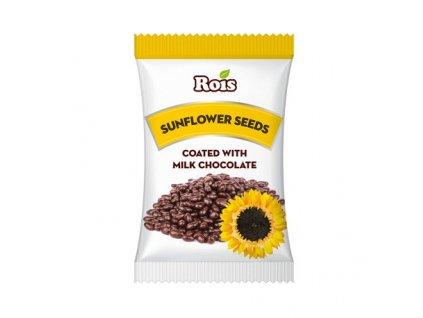 Rois Slunečnicové semínka v mléčné čokoládě 80g