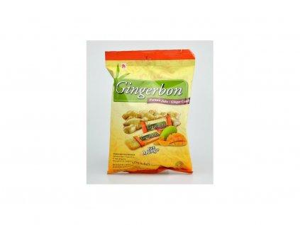 Zázvorové bonbóny s příchutí mango 125g