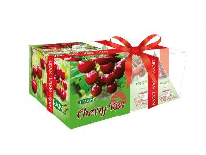 Liran Cherry Kiss Bílý, zelený a černý čaj s třešní 12xg