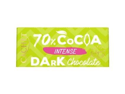Tabulková čokoláda extra hořká 70% 40g