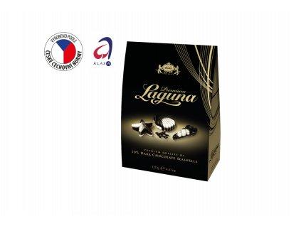 Carla Laguna Premium Mořské plody hořká čokoláda (stříška) 125 g