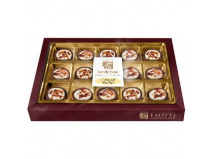 Emoti Family Time caramel basket 210g