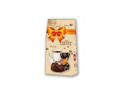 Čokoládové pralinky plněné kávovým krémem 94,5g