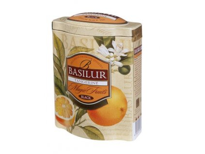 Basilur Magic Tangerine plech 100g Záruka min.trv.10/20